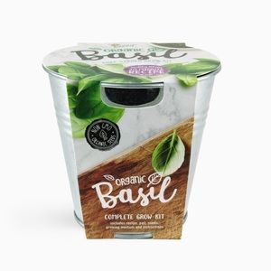 Buzzy Seeds Chef Grow Kit - Organic Basil